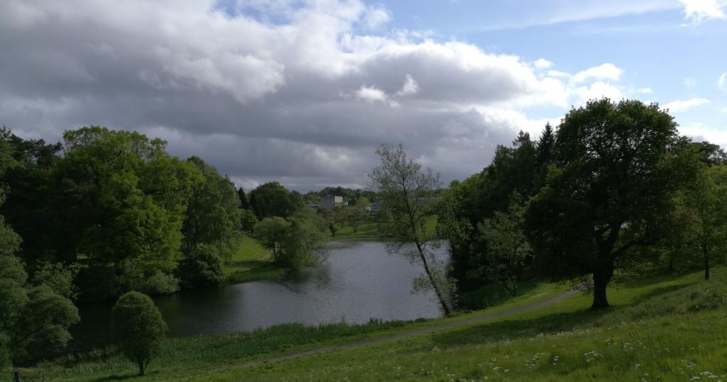 Airthrey Loch, Stirling University, Scotland