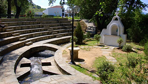 Baptism of Lydia in Philippi - from linearconcepts.com